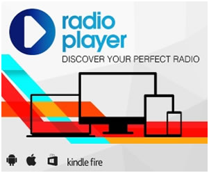 A diagram/promo for Radio Player service