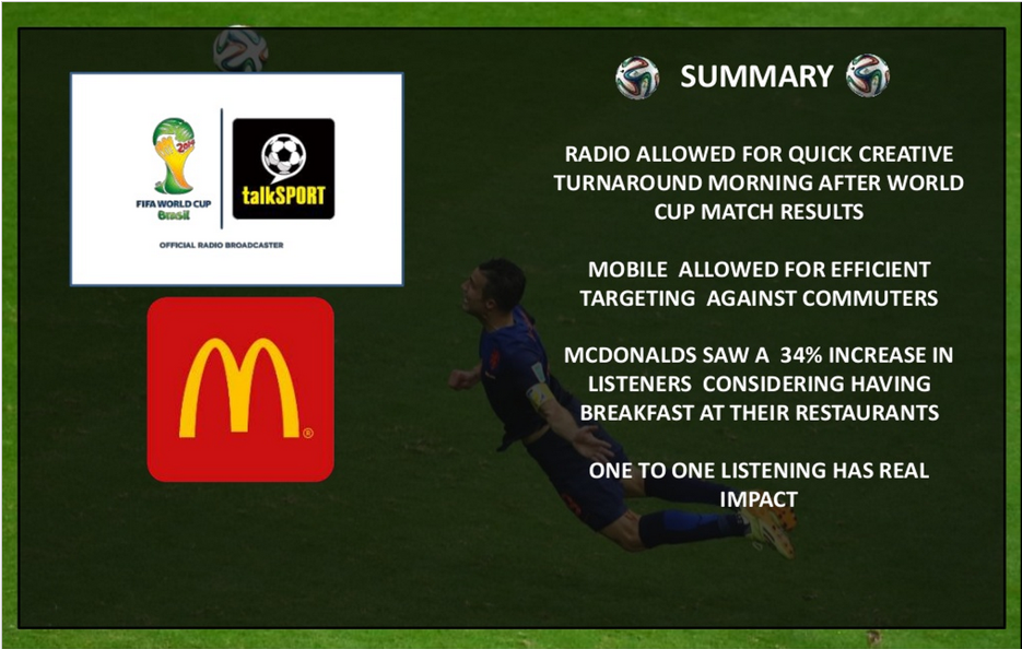 talksport instream mcdonalds case study